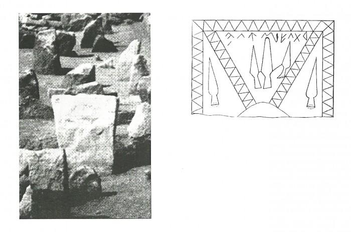 Refugio (II).Estela de Cretas.